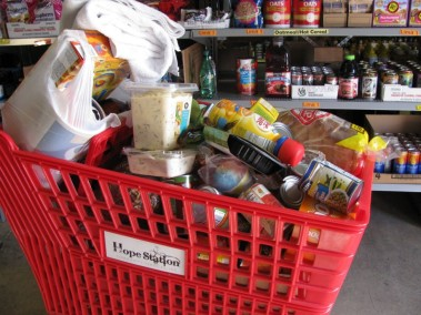 Hope Station Grocery cart